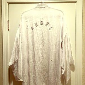 NWT White ANGEL Robe